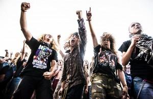 Sfeerimpressies rockfeesten